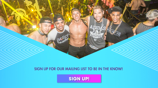 SIGN UP FOR OUR MAILING LIST TO BE IN THE KNOW! SIGN UP!